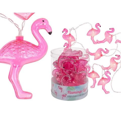 Flamingo LED Light Chain by Sole Favors on OOSTOR.com