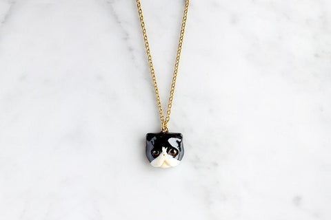 Jumpoon Cat Necklace