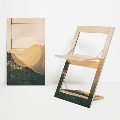 Fläpps The Alps Folding Chair by Ambivalenz