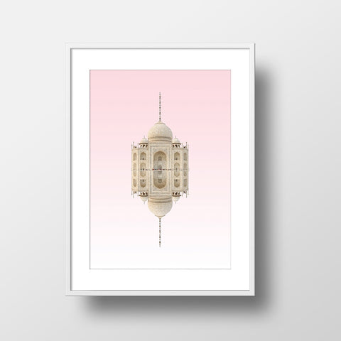Taj Mahal Print by Action Zebra on OOSTOR.com