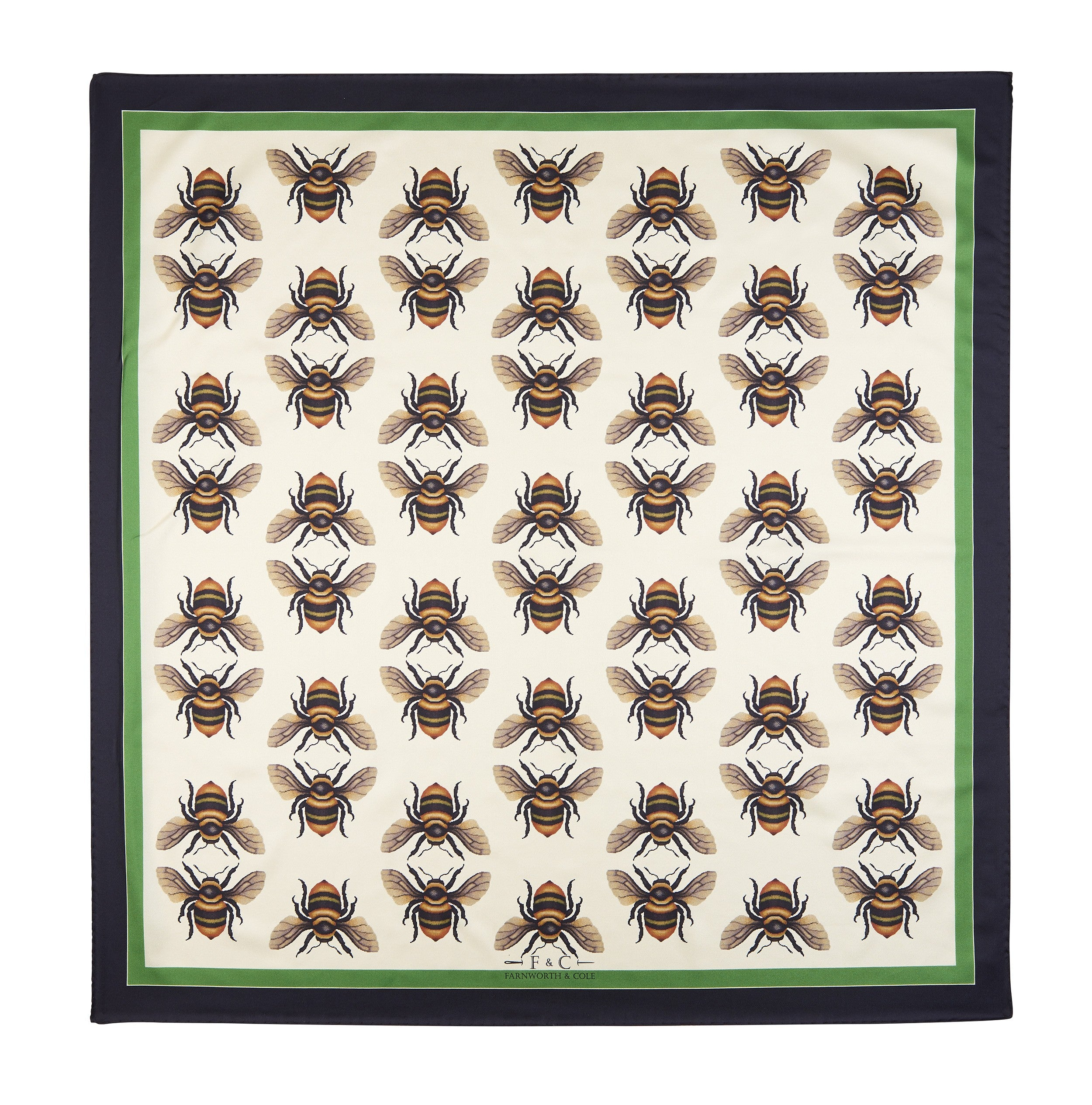 The Shrill Carder Bee Scarf by Farnworth & Cole on OOSTOR.com