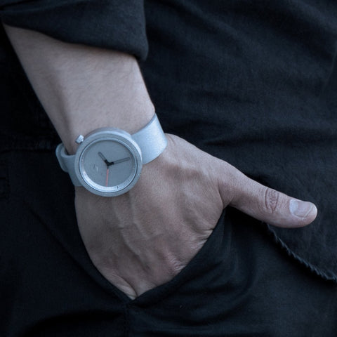 The Masonic Wrist Watch - Gravel Gray by IntoConcrete Inc on OOSTOR.com