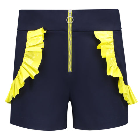 Endless Summer High-Waisted Shorts - Navy Blue by Blonde Gone Rogue on OOSTOR.com