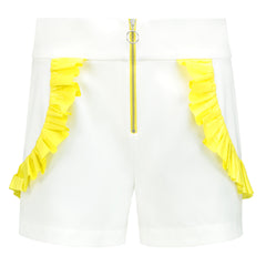 Endless Summer High-Waisted Shorts - White by Blonde Gone Rogue on OOSTOR.com