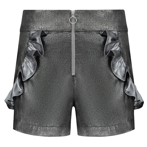 Cosmic Illusions High-Waisted Festival Shorts by Blonde Gone Rogue on OOSTOR.com