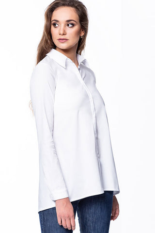 White Lazy Shirt by Bubala