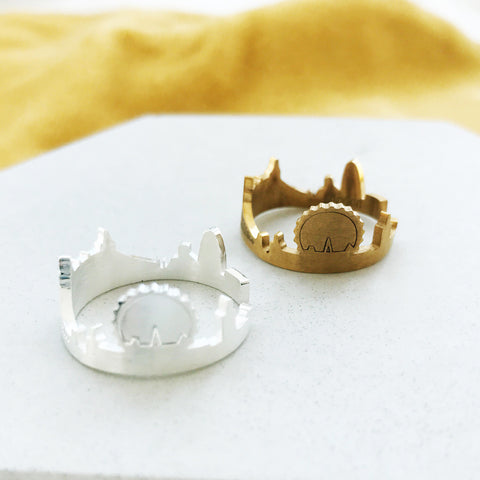 City Skyline Ring by Eclectic Eccentricity on OOSTOR.com