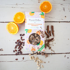 Organic Orange & Cashew Granola