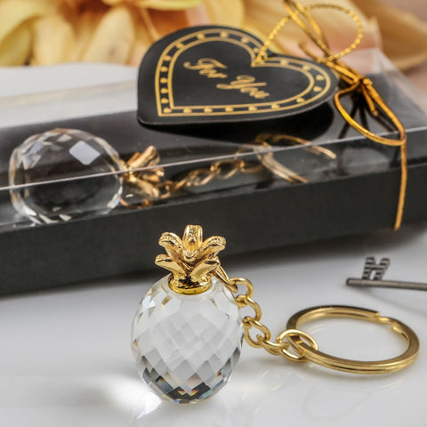 Crystal Pineapple Key Chain by Sole Favors on OOSTOR.com