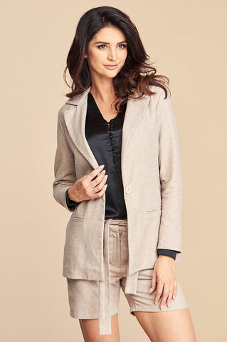 Tailored Lima Jacket with Front Pockets