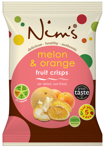 Air Dried Melon & Orange Crisps