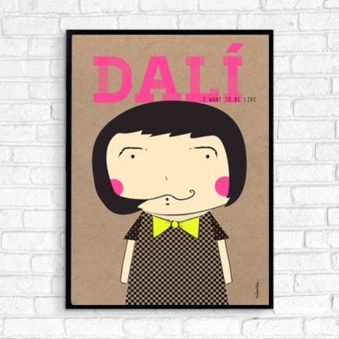 Little Dali Print