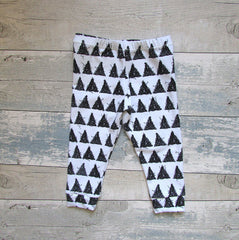 Organic Toddler and Baby Monochrome Leggings