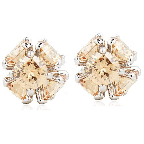Multi Crystal Earrings