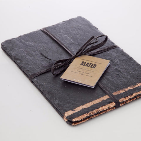 Copper Leaf Slate Place Mats by Slated on OOSTOR.com