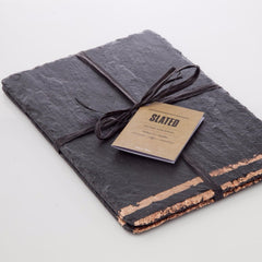 Copper Leaf Slate Place Mats