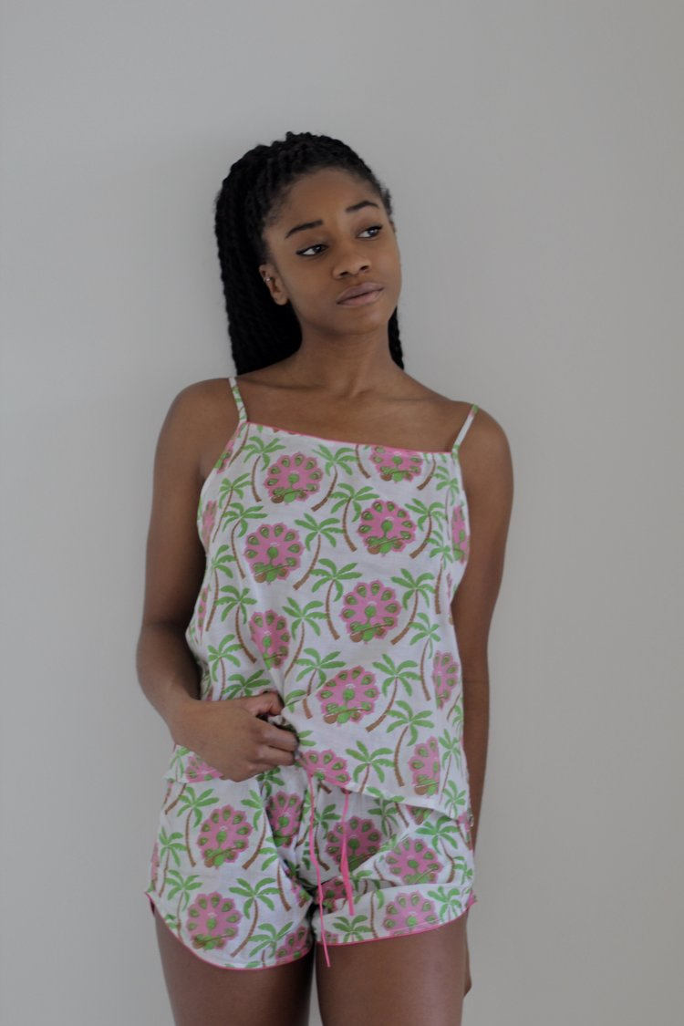 Paradise Island Cotton Pyjamas