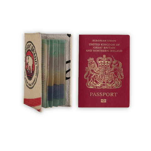 Passport Case by Elephant Branded on OOSTOR.com