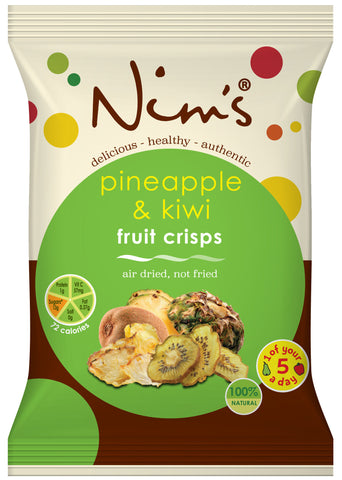 Air Dried Pineapple & Kiwi Crisps