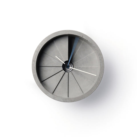 4th Dimension Wall Clock by IntoConcrete Inc on OOSTOR.com