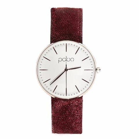Ruby Velvet Watch by Patoo Watches on OOSTOR.com