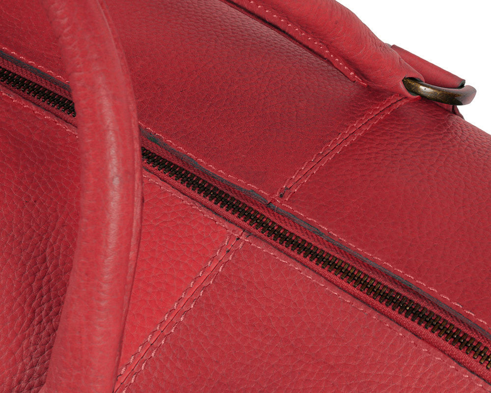 Archie's Duffle - Wild Red - Limited Edition