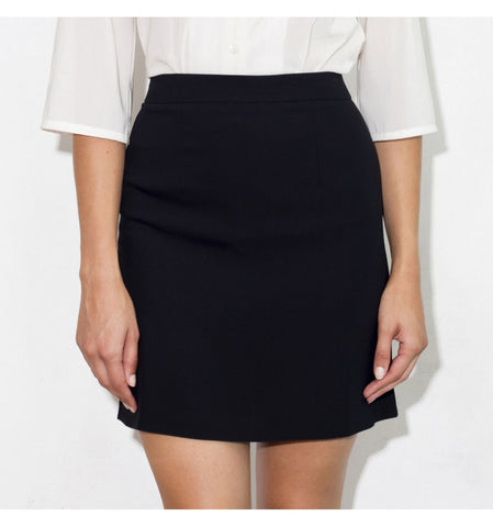 Reeta Miniskirt in Black by TwentyFour Fashion on OOSTOR.com
