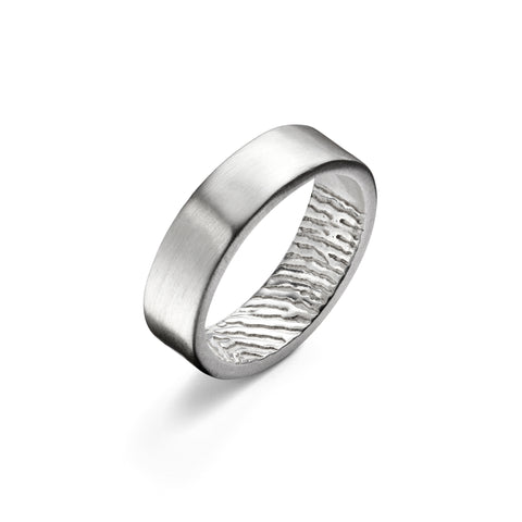 Secret Fingerprint Ring by Oliver Twist Designs