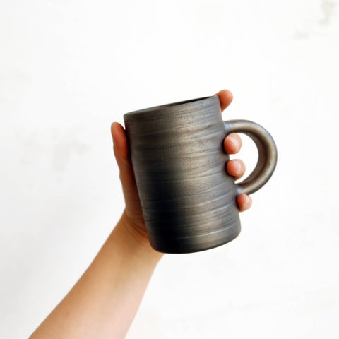 Baltic Raku - Handmade Coffee Mug by Studio Beate Snuka on OOSTOR.com