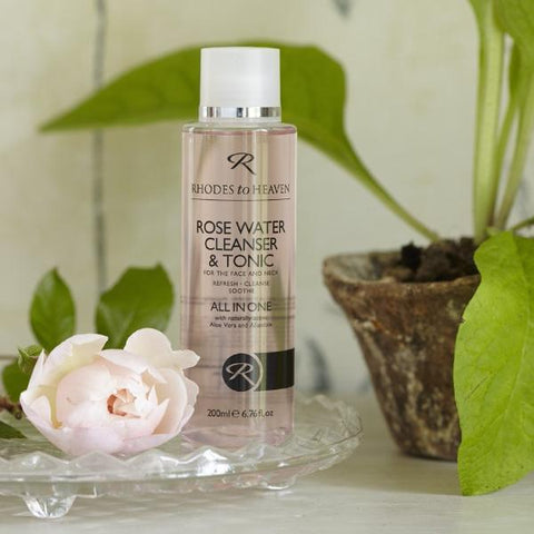 Rosewater Cleanser & Tonic 200ml
