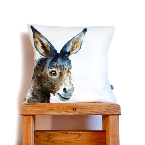 Inky Donkey Cushion by Kate Moby on OOSTOR.com