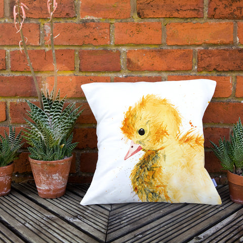 Inky Duckling Cushion by Kate Moby on OOSTOR.com