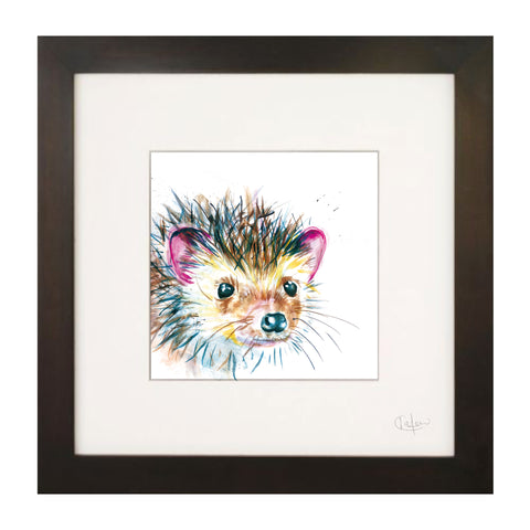 Inky Hedgehog Illustration Print by Kate Moby on OOSTOR.com
