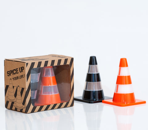 Salt & Pepper Traffic Cones: Set of 2
