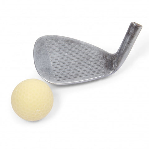 Chocolate Golf Iron & Ball Set by Bundled Gifts on OOSTOR.com