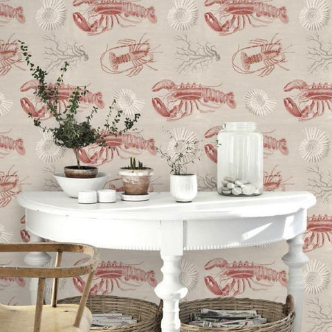 Lobster Wallpaper by Mind The Gap
