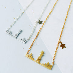 City Skyline Necklaces by Eclectic Eccentricity on OOSTOR.com