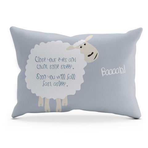 COUNTING SHEEP CUSHION – GREY
