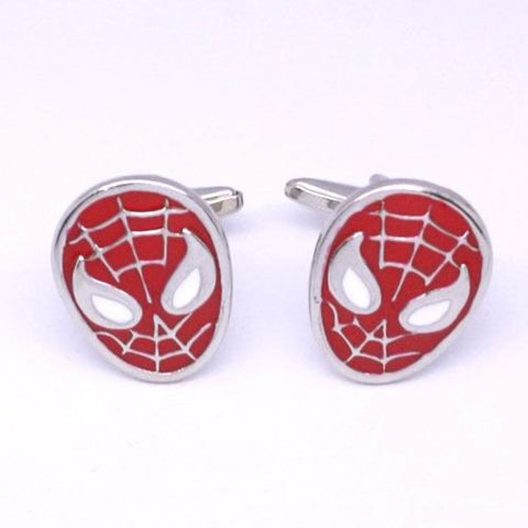 Spiderman Cufflinks by SOLO on OOSTOR.com