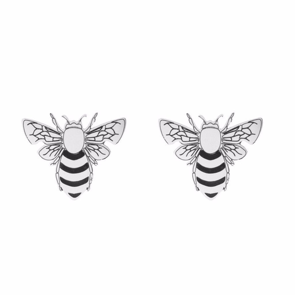 Bee Stud Earrings by ESA EVANS on OOSTOR.com