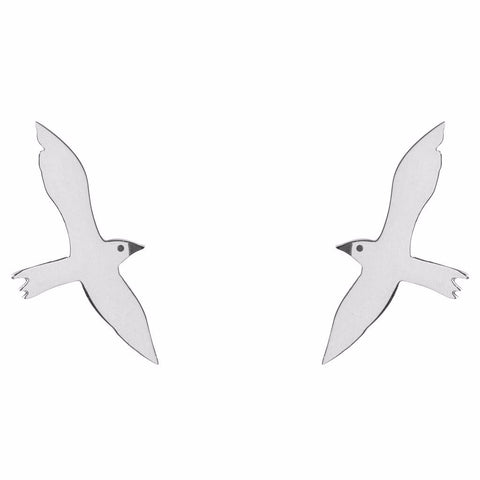 Seagull Stud Earrings by ESA EVANS on OOSTOR.com