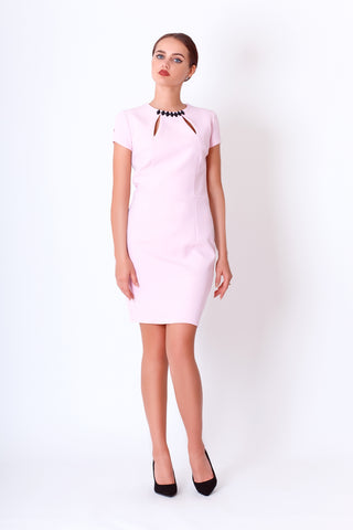 Svetlana dress in baby pink