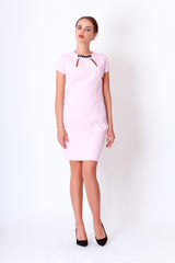 Svetlana dress in baby pink by JEVA Fashion on OOSTOR.com