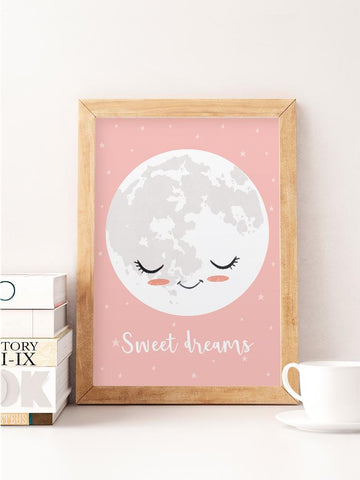 Sweet Dreams Moon Print