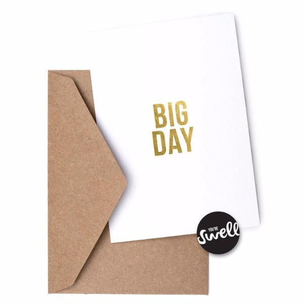 Big Day Card by Swell Made Co on OOSTOR.com