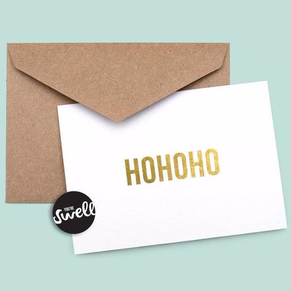 Hohoho Card by Swell Made Co on OOSTOR.com