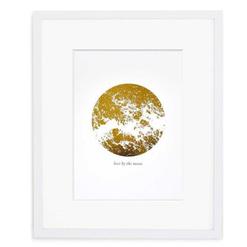 Love By The Moon Print by Swell Made Co on OOSTOR.com