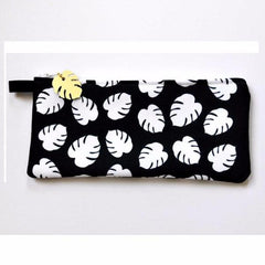 Monstera Leaf Pouch by Swell Made Co on OOSTOR.com