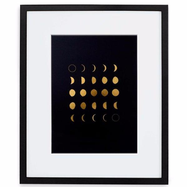 Moon Phases Print by Swell Made Co on OOSTOR.com