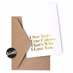 Easy Listening Lyrics Cards by Swell Made Co on OOSTOR.com